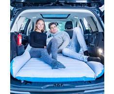 QISE SUV Materasso ad Aria per Auto Materasso da Campeggio Mobile Materasso per Auto a Doppia Faccia Floccato con Pompa per Materasso per Auto Letto Gonfiabile Letto ad Aria per Viaggi, Campeggio