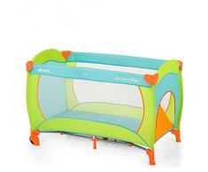 Hauck 600719 Sleep N Play Go Plus, Lettino da Campeggio Pieghevole con Accessori, Multicolore