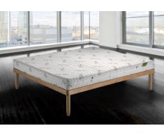 Materasso Lattice al 100% con 7 Zone a portanza differenziata sfoderabile e anatomico Matrimoniale 160x200 cm - Latex Sfod