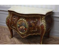 Barocco Stile Antico comò cassetti rococò mobda0763bg