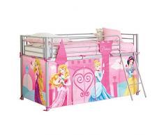 Disney Princesses 865142 - Copertura telaio di letto a soppalco, colore: rosa