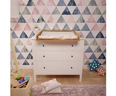 101118414 libro, Polini bambini fasciatoio per comò Hemnes IKEA, 1412,2