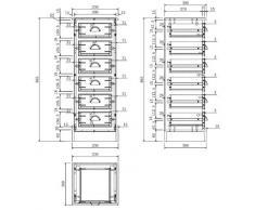 AC Design Furniture Cassettiera Thomas