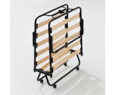 Brandina Pieghevole con rete a doghe letto apribile singolo 80x190 cm