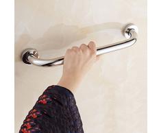 WEBO HOME- Rete di sicurezza 304 corrimano in acciaio inox vasca corrimano anziani corrimano Bagno per disabili bagno della maniglia igienica -Corrimano da bagno ( dimensioni : 30 centimetri )