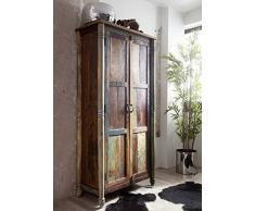 Vintage legno antico legno massello mobili armadio mobili in legno massello laccato legno massello Rapunzel # 12