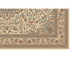 Tappeto Persiano riproduzione moderna - Tappeto orientale soggiorno e camera HALI 8745-684 80X150