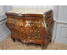 Cassettiera barocco Gabinetto Louis XV stile antico mkkm0097bg