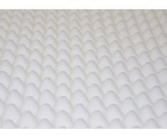 Abeil 150000001041 On - Air Tasche schiuma materasso Bianco 190 x 90 x 6 cm