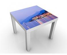 Tavolino design Bellagio At The Lake Como 55x55x45cm, Tischfarbe:schwarz;Größe:55 x 55 x 45cm