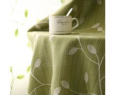 Romantica tovaglia sala da pranzo anti-Olio tavola biancheria da tavola per home hotel cafe restaurant-C 51*86inch(130*220cm)