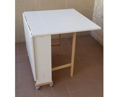 Tavolo a ribalta acquista tavoli a ribalta online su livingo - Tavolo con ruote ikea ...