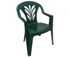 Sedie Plastica Verde Giardino.Sedie Da Giardino In Plastica Color Verde Da Acquistare