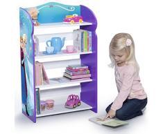 Delta Children Fl86892Fz Libreria in Legno, Multicolore, 51x26x84 cm