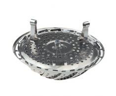 vapore pieghevoli - TOOGOO(R) Cucina pieghevole / pieghevole in acciaio inox Vapore carrello Steam Cooker
