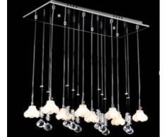 Fiori e lampadari di cristallo soggiorno / camera / sala da pranzo / Sala Studio