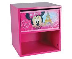 FUN HOUSE Disney Minnie Tavolo Comodino per Bambini, MDF, 33 x 30 x 36 cm