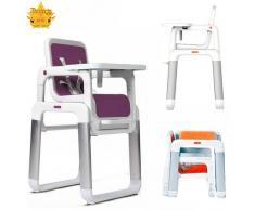 STAR Ibaby Pouch – Seggiolone trasformabile in tavolo + sedia Viola