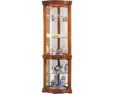Vetrina angolare » acquista vetrine angolari online su livingo