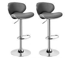 Woltu bh23bd 1 sgabello da bar estetica moderno sedia cucina alta