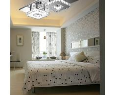 24W LED Disegno di cristallo Lampada a sospensione lampada a soffitto pendente di luce Lampadario Bianco Freddo creativa