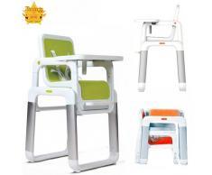 Star iBaby Pouch – seggiolone trasformabile in tavolino + sedia verde
