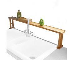 Mensola per Lavello Cucina Realizzato in Legno di Bambù