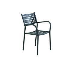Sedia Poltrona per Esterno Alice Ferro Antico * Offerta per 2 Pezzi * VERMOBIL Made Italy