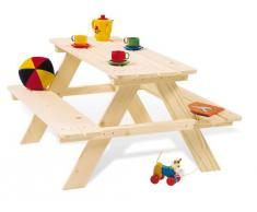 Pinolino 201016 - Nicki, gruppo tavolo con panche, per bambini