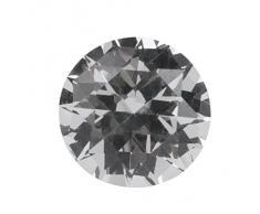 WINOMO Nappa di muro di diamante della tenda Fermatenda porta ganci 2pcs (argento)