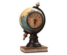 poetryer - Palloncino per la Vendita di Orologi da scrivania, 12 x 24 cm, Decorazione Antica Mondo educativo Iniziale Sala da Pranzo TV Blu