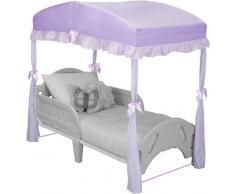 Delta Children Girls Canopy for Toddler Bed, Purple by Delta Children