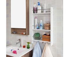 Pensile per bagno acquista pensili per bagno online su livingo - Mobiletto bagno da appendere ...