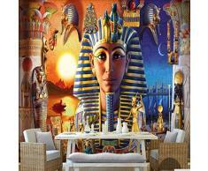 Carta Da Parati Murale Murali Personalizzare 4D Mural Decorazione ,Moderna Cultura Egiziana Antica Civiltà Tecnica Dello Sfondo Per Camera Da Letto Soggiorno Sala Da Pranzo Wallpaper-104In×168In 260