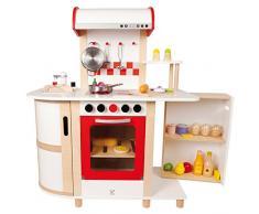Hape E8018 - Cucina con Carrello, Multicolore