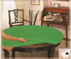 Copritavolo da gioco POKER tovaglia rotonda diametro cm 135