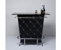 Design Minibar tavernetta bancone bancone bar di design Delights Bartisch casa bancone mini bar Nero