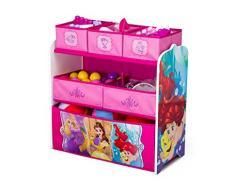 Delta Children Disney Princess multi-bin Toy organizer