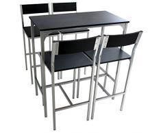 Tavolo alto con sgabelli idee per la casa douglasfalls.com