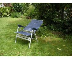 2 x – Performance sedia pieghevole – Sedia pieghevole – STABIELO – Sedia da campeggio – elevata portata – con 10 cm verbo reiterter seduta – – 6,6 – kilo leggero – Sedia in alluminio Fishbone