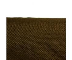 Arketicom Pallet Cuscino 60x80 x10h cm cuscini da esterno per arredamento moderno mobili divani da giardino salotto divanetto Pallet bancale Cuscini arredo sfoderabili interno gomma piuma poliuretano per arredamento set da giardino Marrone 80x60x10 cm