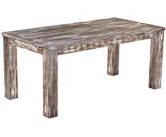 Brasil mobili tavolo da pranzo 'Rio classico' 177 x 90 cm, in legno massello di pino, tonalità in stile antico