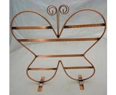 ESPOSITORE orecchini gioielli bigiotteria manichino FARFALLA vetrina bancone