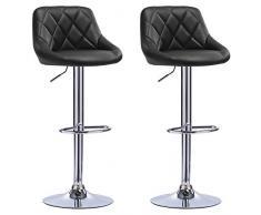 Woltu bh bd coppia sgabelli da bar estetica moderno sedia
