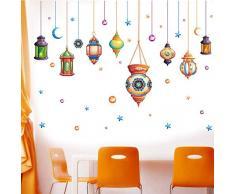 QTXINGMU Wall Stickers Lampadari Soggiorno Sala da Pranzo Portico Divano TV Sfondo Parete Decorativi Adesivi
