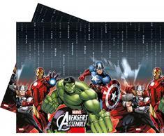 Procos 84602 - Tovaglia Plastica Marvel Avengers Power, 120 x 180 cm, Multicolore