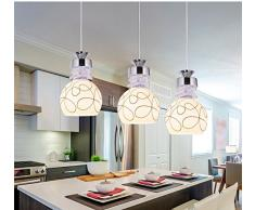 Il ristorante , il LED 3 di lampadari e lampadari , Bar , lampadari lampadari , Sala da pranzo unico luci di testa , lampadari cafe negozi lampadari ,B1-5 W - Colori caldi