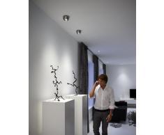Philips Nio Lampada da Soffitto, Tonda, LED, Alluminio