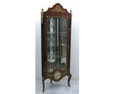 Barocco angolare – Vetrina armadio stile antico MoCr1106
