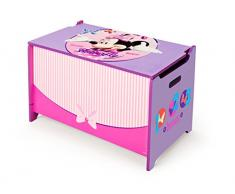 Delta Children TB84878MN - Baule portagiochi per bambini Minnie Mouse
